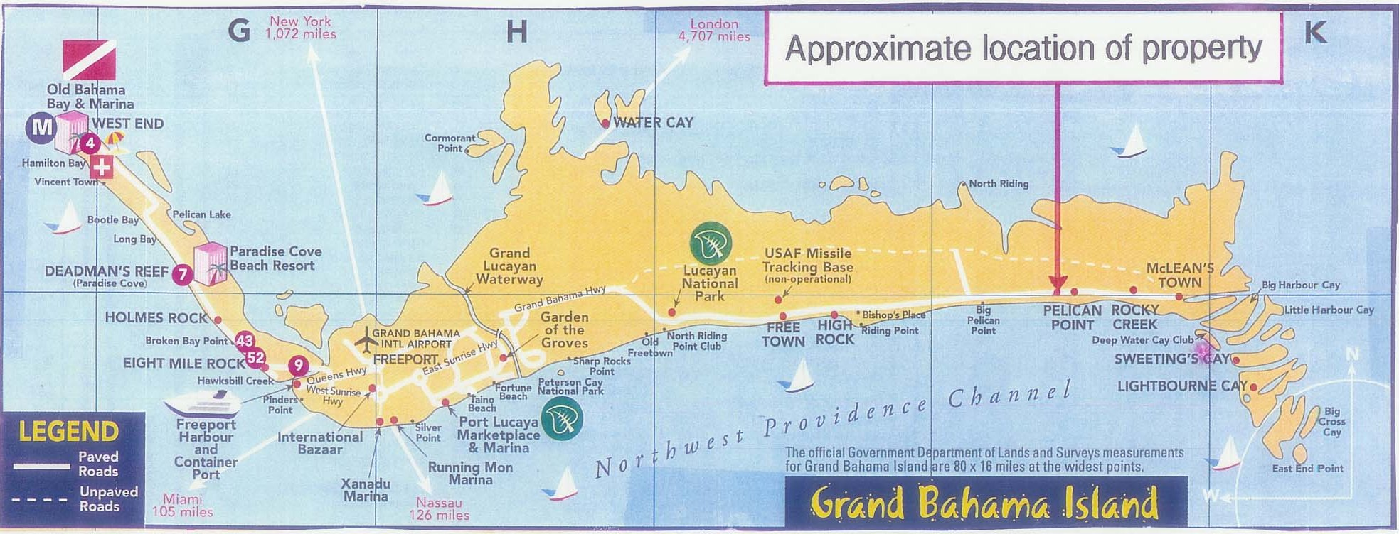 Grand Bahama Vacant Land at East Grand Bahama Freeport ID 2078