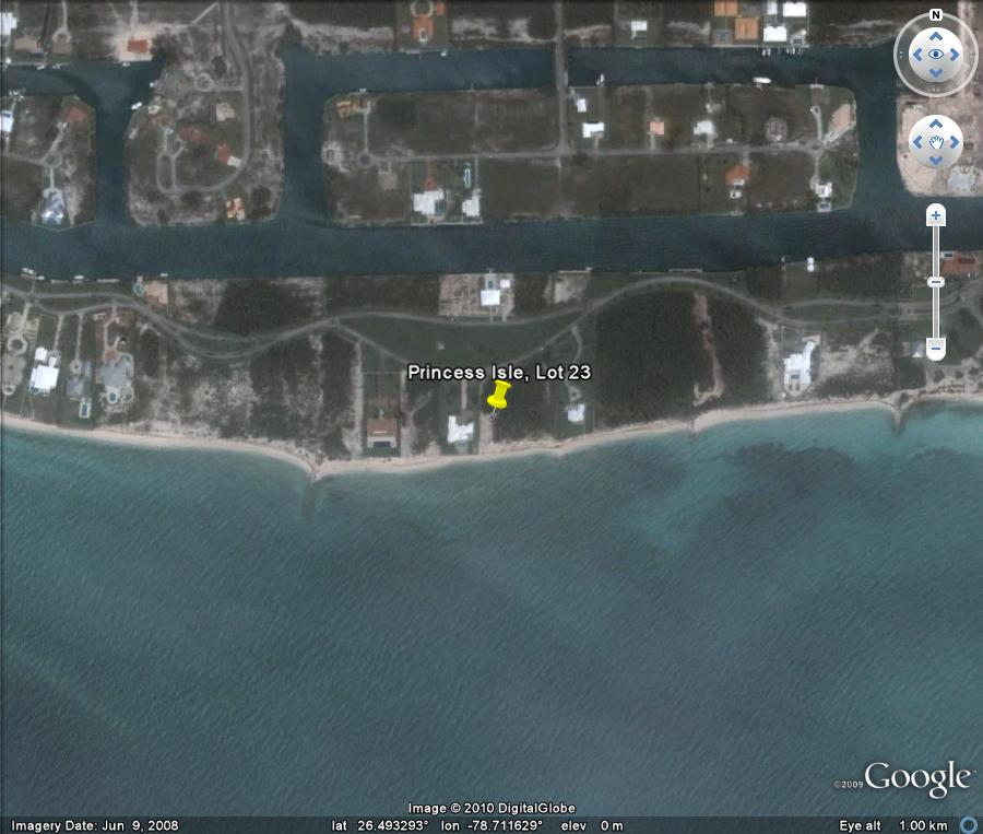 lots in the Bahamas that have beachfrontage and canal frontage as well