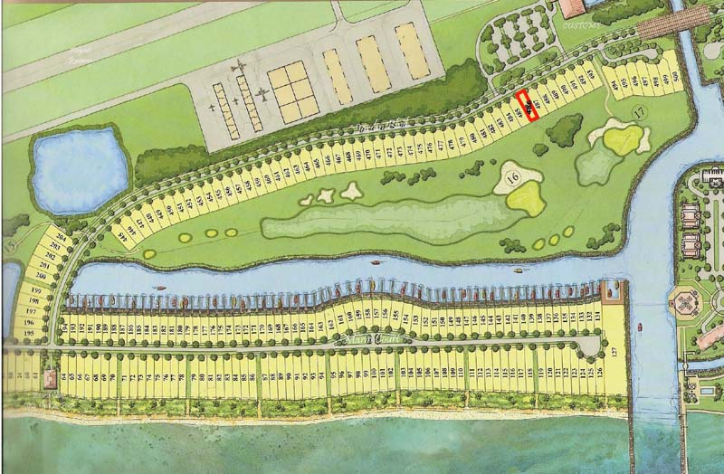 Golf-course properties in upscale Bahamas developments close to America