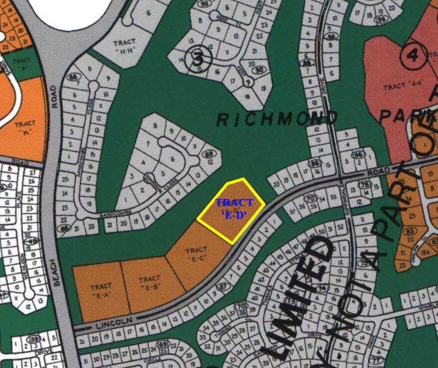 golf-course-frontage multifamily residential parcels for sale