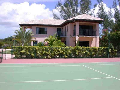 Guest House and Tennis Court