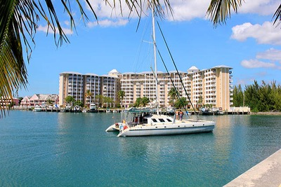 Bahamas waterfront condominium