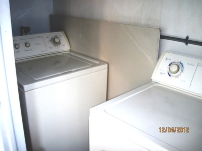 Side B Laundry room