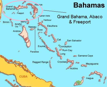 Real estate in grand bahamas properties for sale map of barbados sciox Gallery